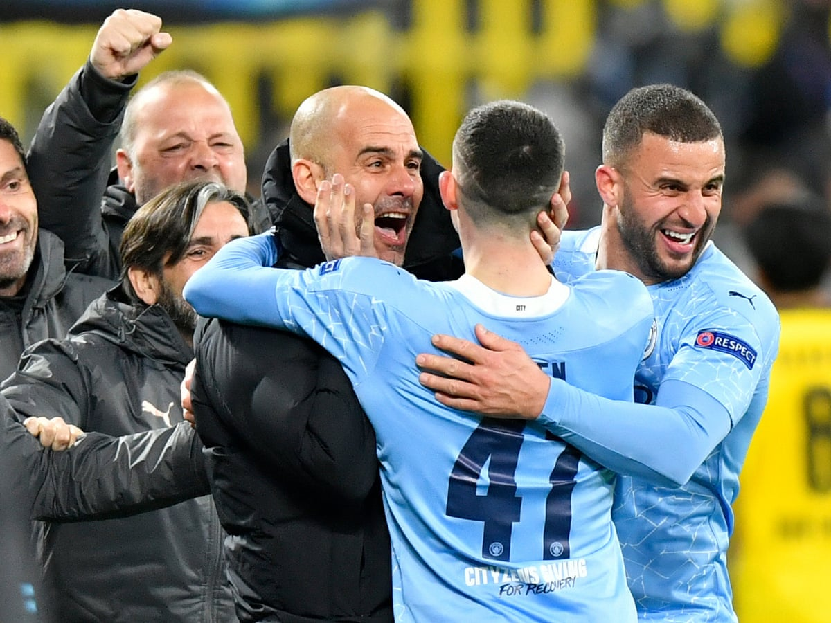 Guardiola delights in Manchester City 'building history' in Champions  League | Champions League