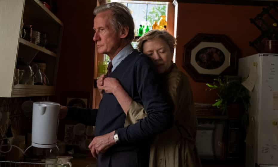 Annette Bening is the distraught wife and Bill Nighy the husband bent on leaving to seek his own happiness in Hope Gap.