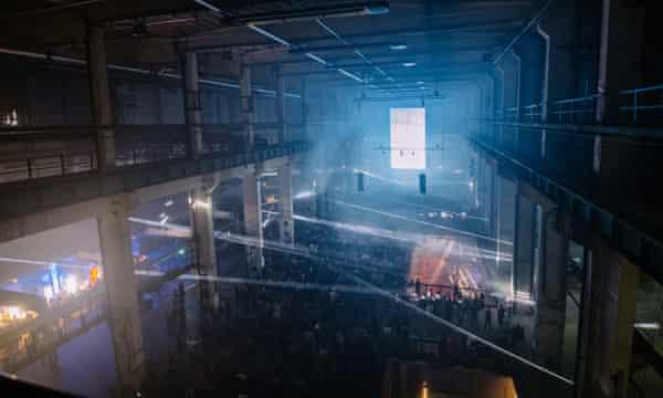 Kraftwerk Berlin power plant, the venue of Berlin Atonal festival 2015