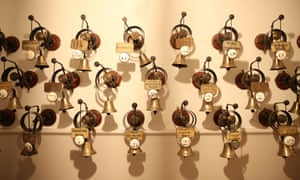 The bells used to summon staff at Cliveden House, made famous by Downtown Abbey.