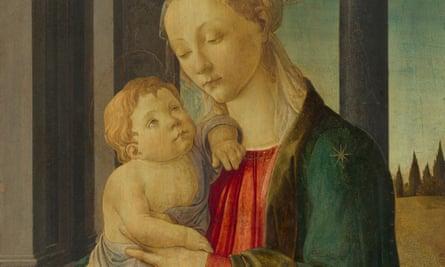 Sandro Botticelli's Madonna and Child (circa 1470)