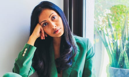 'I've always thought of myself as an outsider' … Avni Doshi, who debut novel, Burnt Sugar, is up for a Booker.