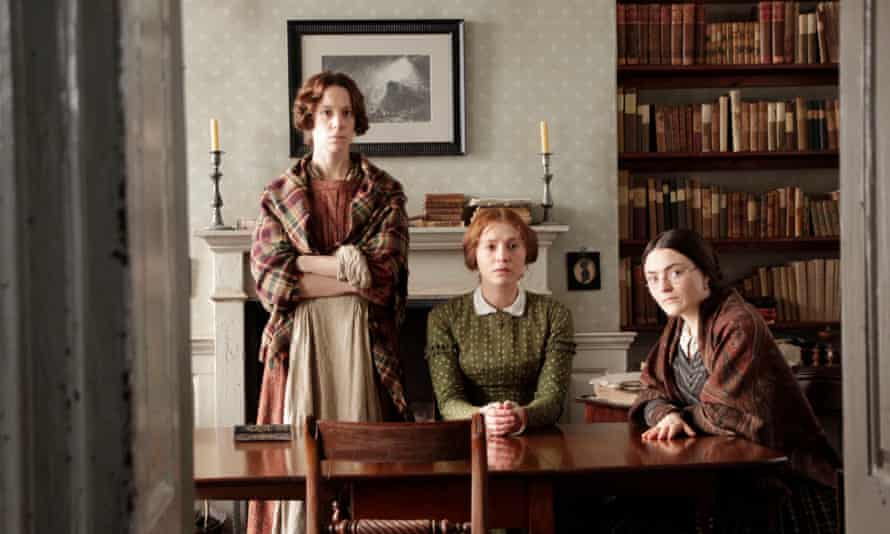 Emily, Anne and Charlotte in To Walk Invisible.