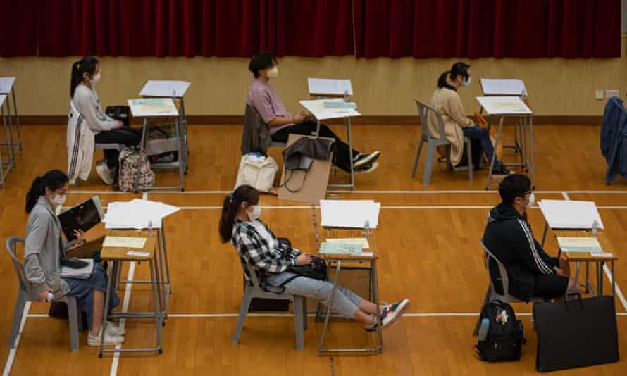 Hong Kong exam