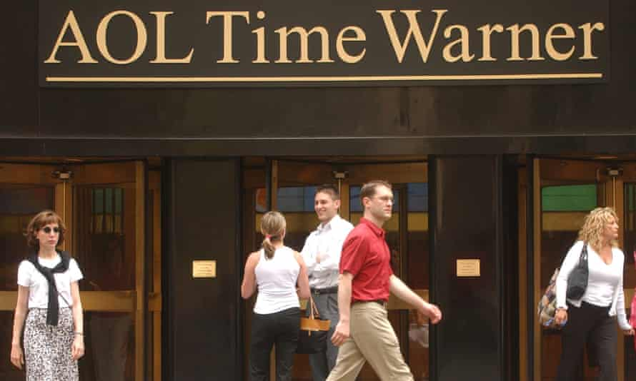AOL's takeover of Time Warner in 2000 was the largest merger in US corporate history at the time.