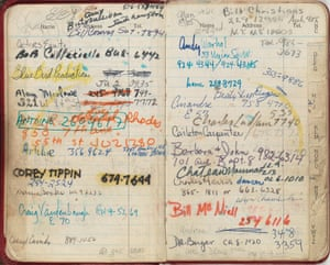 Candy Darling's 1970 diary/notebook