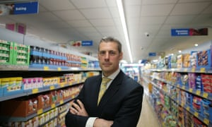 Aldi chief executive Matthew Barnes