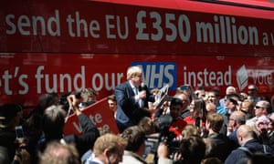 The Out campaign know that the number on the side of their battle bus is a lie. But on the side of their bus that lie is still painted.