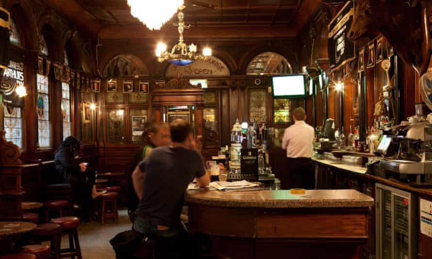 The Stags Head pub Dublin Ireland