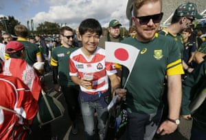 The whole occasion was almost surreal. How often in life do you encounter Japanese families and South African expats strolling happily together beside the English Channel, united by a sport not played professionally in the area?