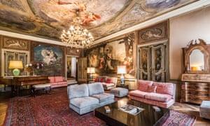 Venice palazzo apartment interior