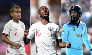 Nikita Parris, Raheem Sterling and Moeen Ali. Photographs by PA, Getty Images and Reuters.