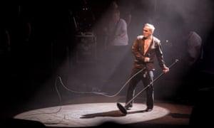 Morrissey performing at the Royal Albert Hall, London, in 2018
