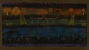 Paul Klee's Garden in the Plain (1925).