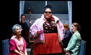 Amanda Ma, Ruci Kaisila and Maude Davey in Anthem
