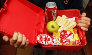 About half of all primary school children take a packed lunch to school.