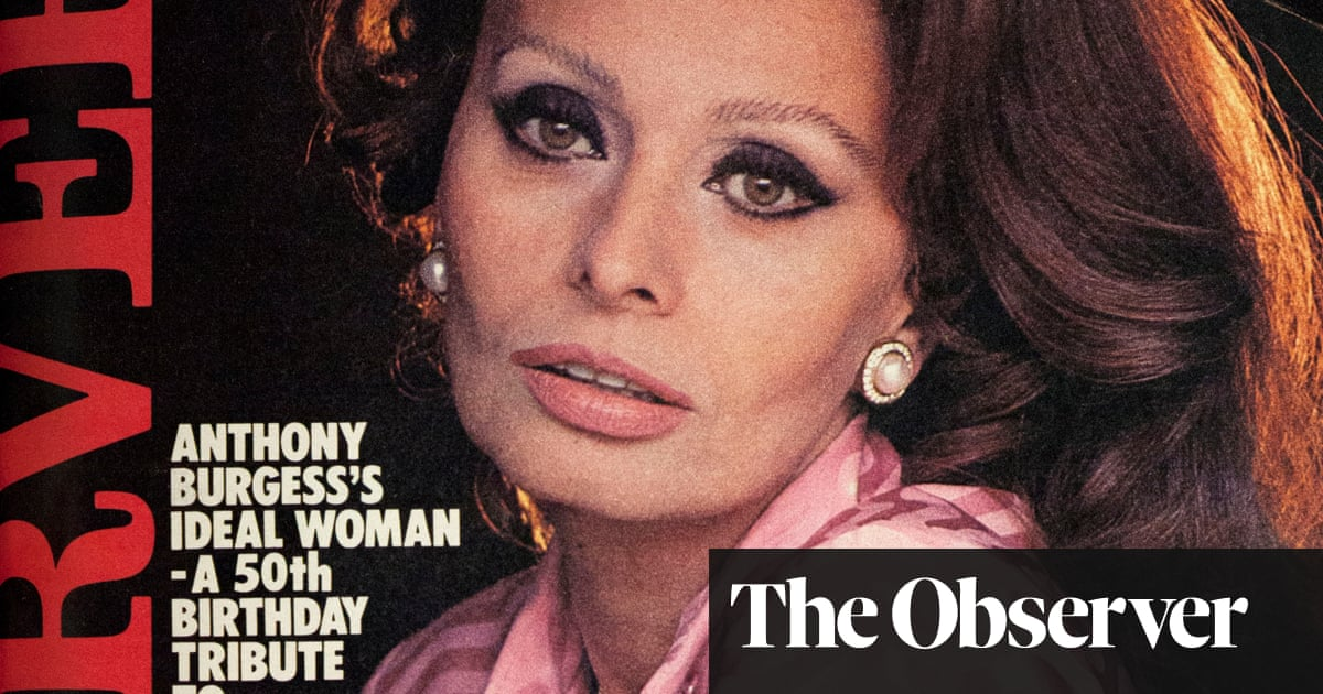 1da3ed38a From the archive  Anthony Burgess falls for Sophia Loren