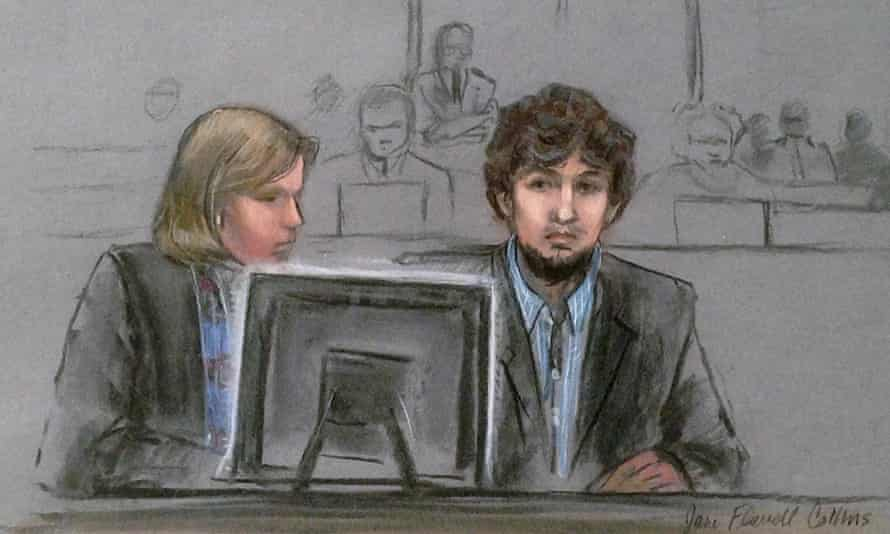dhozkhar tsarnaev judy clarke boston marathon bombing trial