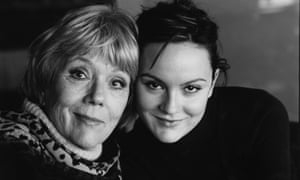 Diana Rigg and her daughter Rachel Stirling photographed at the National Theatre in London for the Observer in May 2005