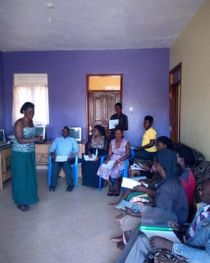 Citizen volunteers in Kampala, Uganda, hold their first local meeting as Citizens' Climate Lobby Kampala.