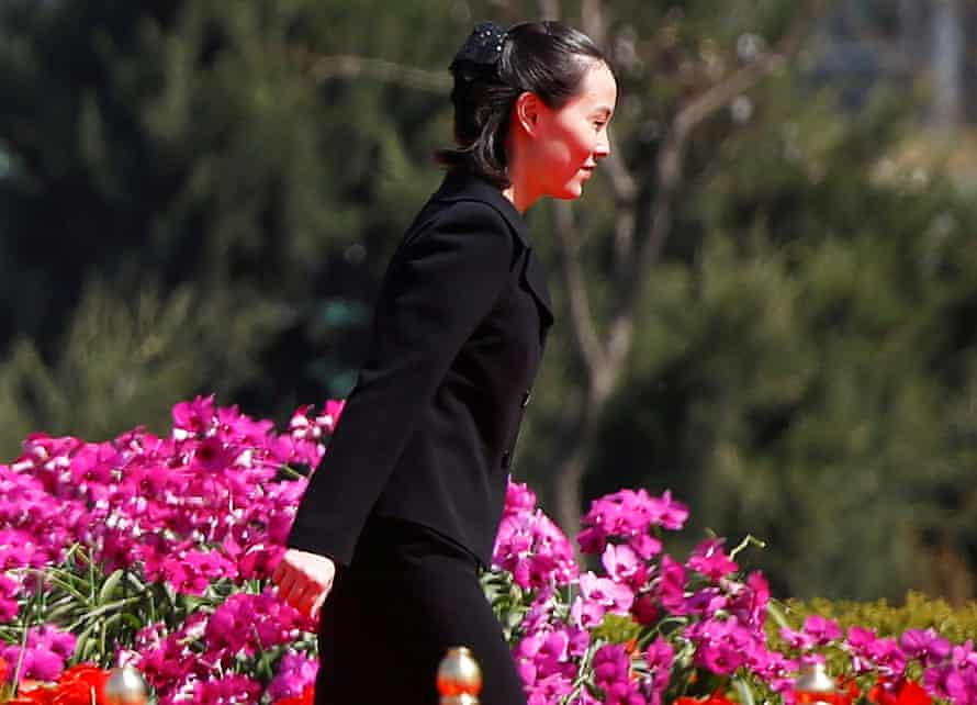 Kim Yo Jong, sister of North Korean leader Kim Jong Un, attends an opening ceremony of a newly constructed residential complex in Ryomyong street in Pyongyang, North Korea April 13, 2017.
