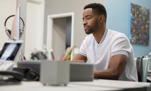 Jay Ellis as Lawrence in Insecure