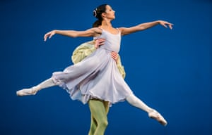 William Bracewell and Francesca Hayward in Dances at a Gathering by the Royal Ballet in February.