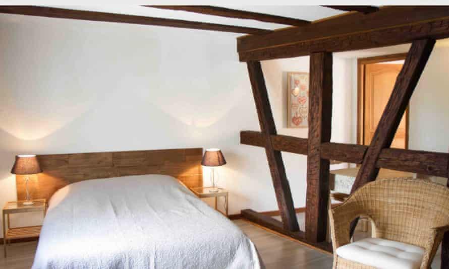 Mirabelliers gite at Le Vieux Pressoir, Alsace, France.