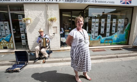 Terrie Simpson who runs the Agence Eleonor estate agents in Eymet