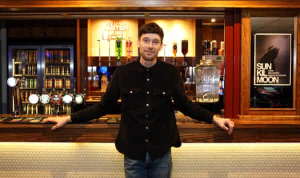 Nathan Clark, owner of the Brudenell Social Club.