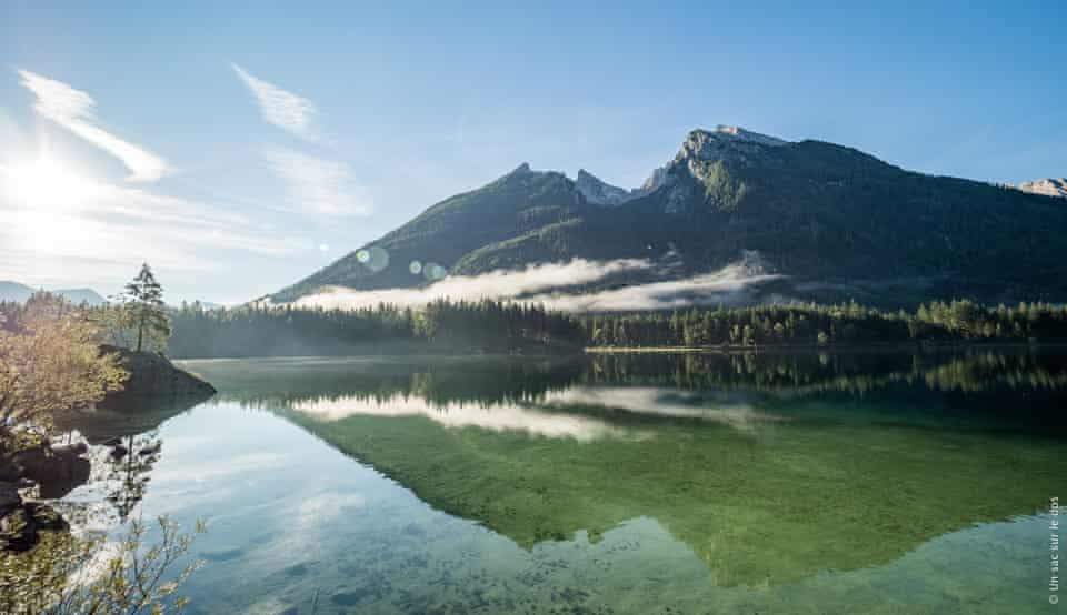Berchtesgaden National Park - Hintersee Lake