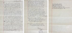 Tupac Shakur's letter to Madonna.