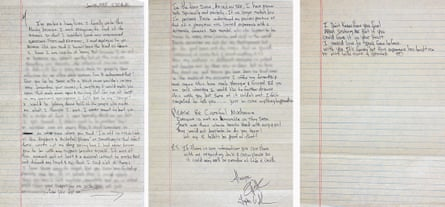Tupac's letter to Madonna