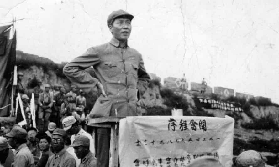 Chinese Communist leader Mao Zedong (1893 - 1976), better known as Mao Tse-tung in 1938.