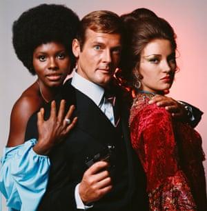 Roger Moore as Bond