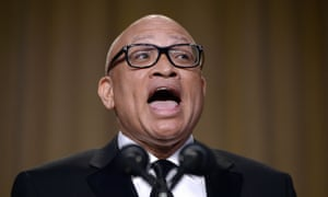 Larry Wilmore speaks during the White House Correspondents' Association annual dinner.