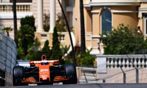 Jenson Button went into final practice on Saturday knowing that he would suffer a 15-place penalty at Monaco.