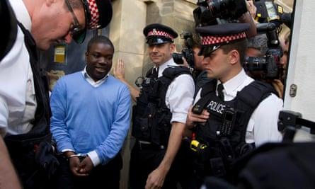 Kweku Adoboli appears in court  in 2011
