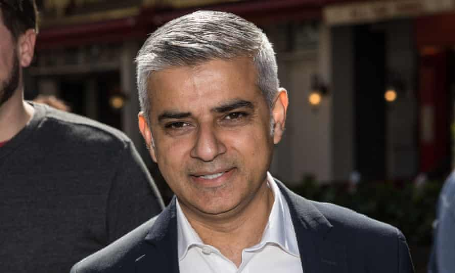 London mayoral candidate Sadiq Khan