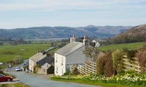 Broad Oak, south of Ravenglass village on the west Cumbria coast