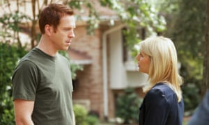 Damian Lewis and Claire Danes in Homeland in 2011