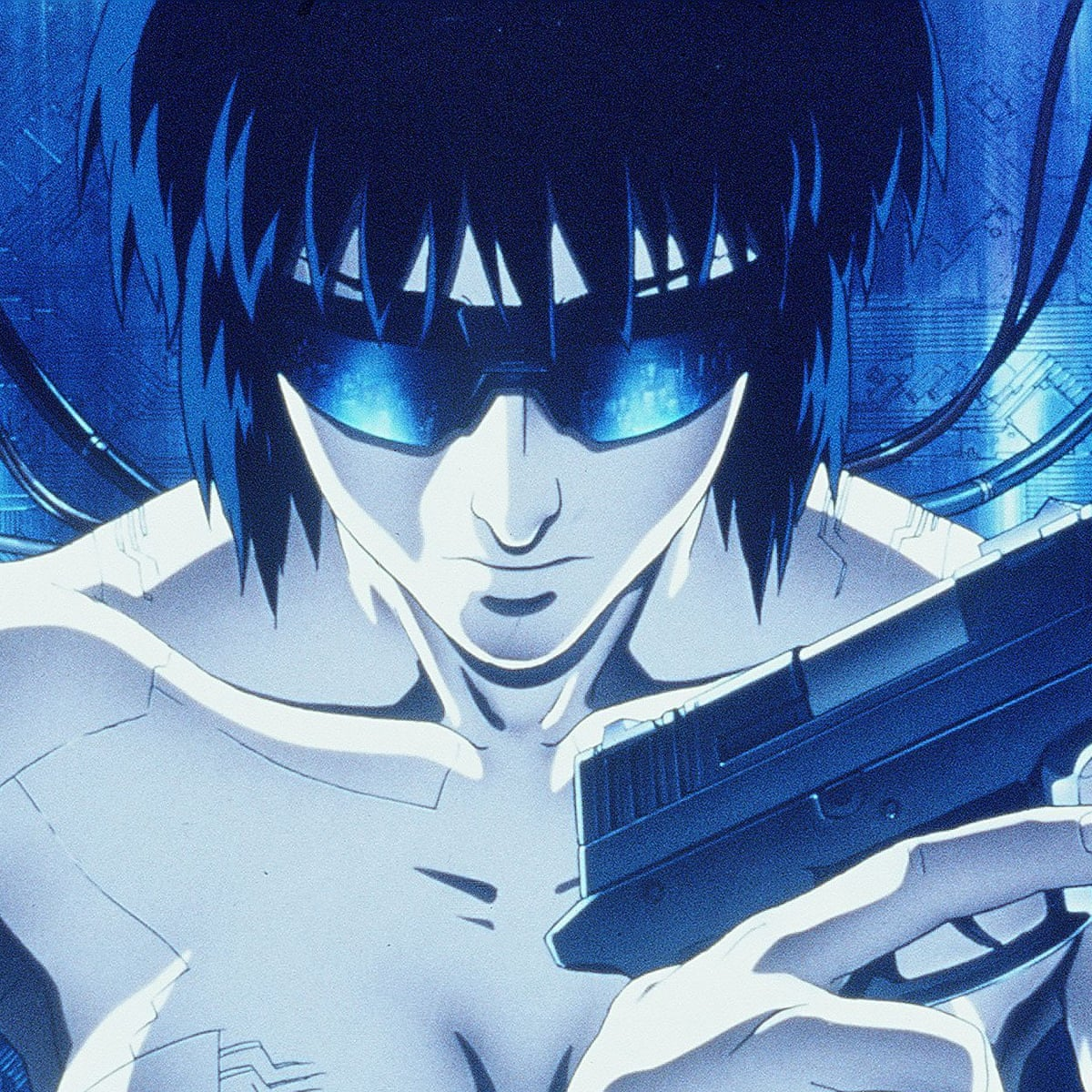 Ghost In The Shell Review Futuristic Classic Improves With Age Film The Guardian