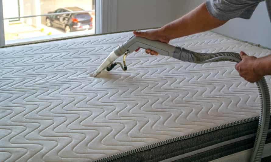 Professor John Blakey, a respiratory specialist, recommends frequently vacuuming your mattress.