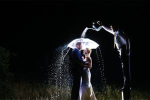 Most people don't want it to rain on their wedding day
