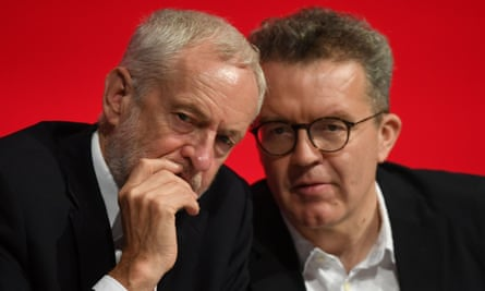 Jeremy Corbyn (left) and Tom Watson (right)