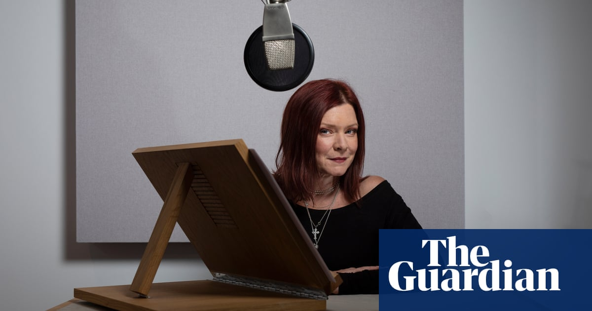'Your throat hurts. Your brain hurts': the secret life of the audiobook star