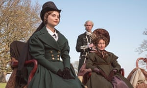 Victoria: Jenna Coleman as Victoria and Annabel Mullion as Lady Beatrice.