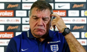 England manager Sam Allardyce is fighting for his future after one game.