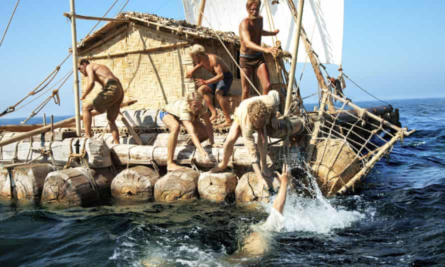 Still from Kon-Tiki film, 2012.