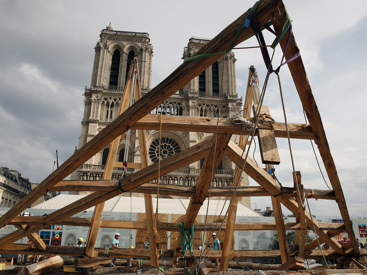 Notre Dame Paris Christmas Mass 2021 France On Hunt For Centuries Old Oaks To Rebuild Spire Of Notre Dame Notre Dame The Guardian
